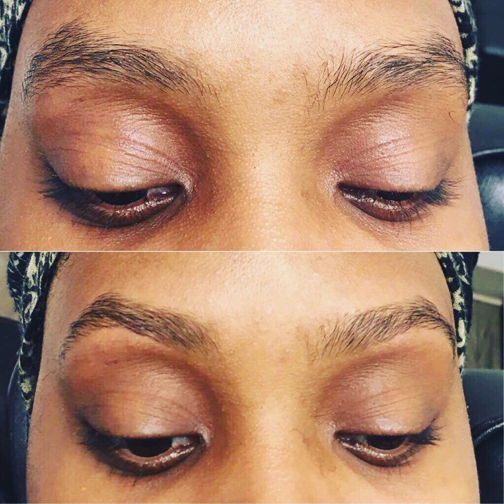 Karma Eyebrow Threading On Instagram Before And After Photos That