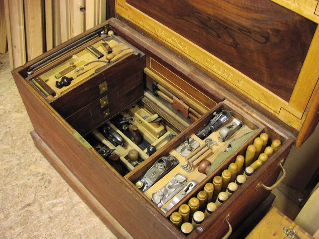 Ultimate hand-tool tool chest...a chest that doubles as a ...