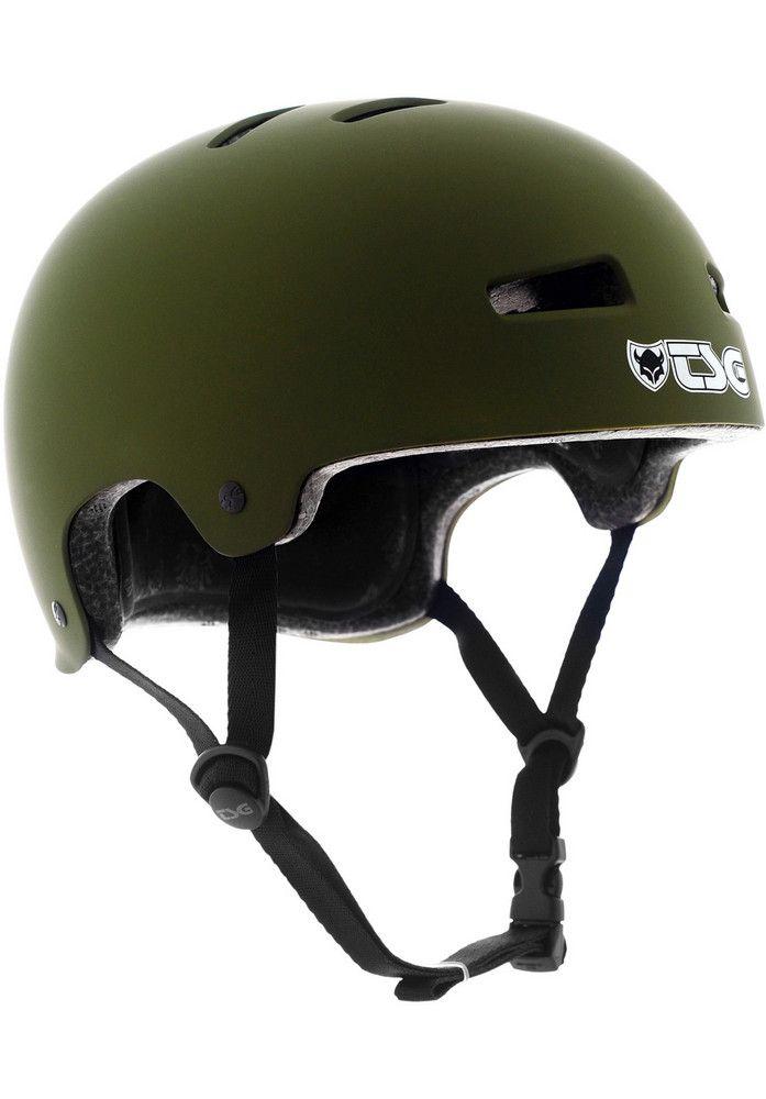 TSG Evolution-Solid-Colors, Helmet, flat-olive Titus Titus Skateshop #Helmet #Skateboard #titus #titusskateshop
