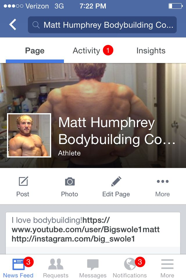 Facebook check me out and like my page