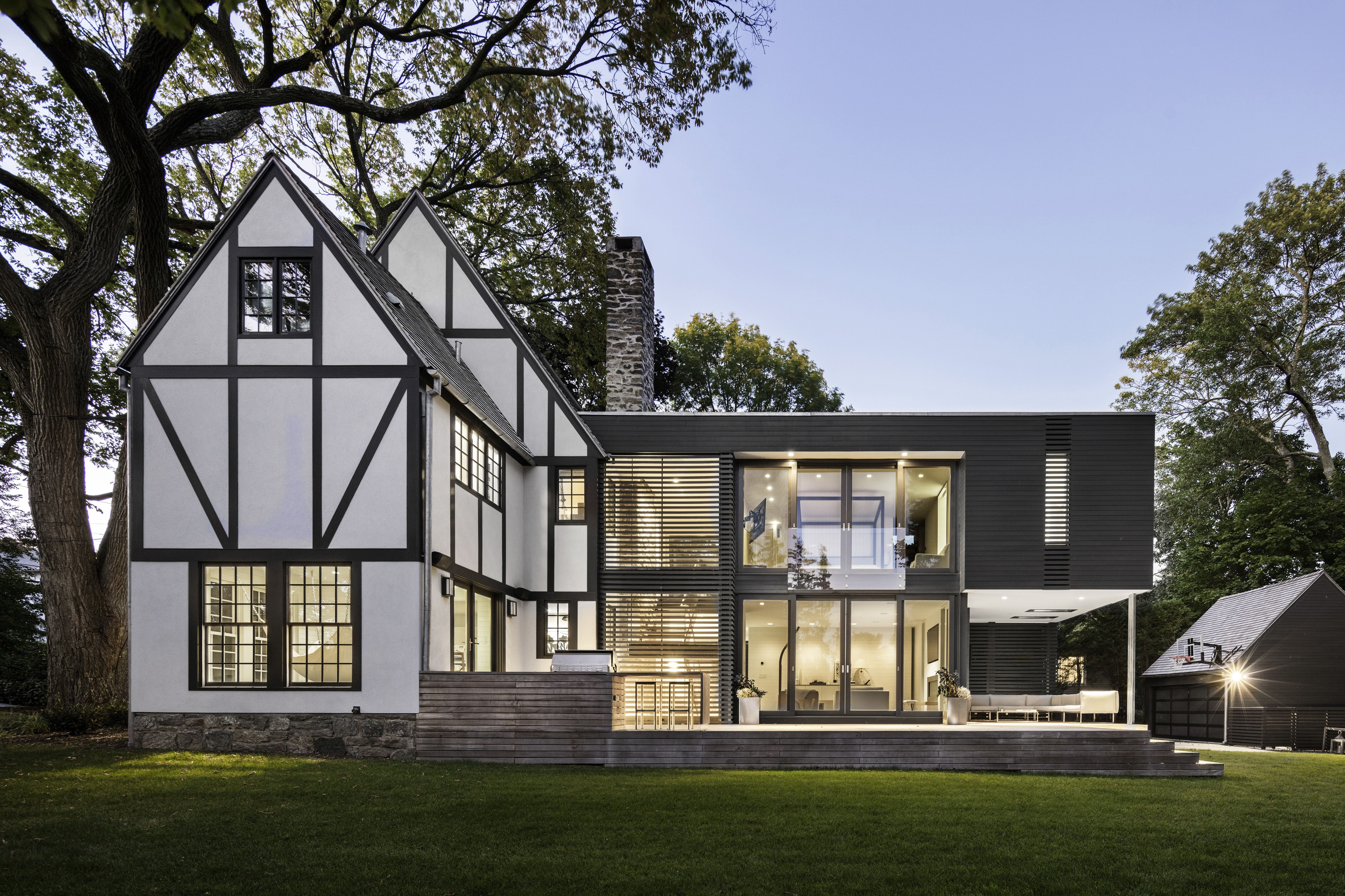 35hp Tudor Style House With Modern Addition By Joeb Moore