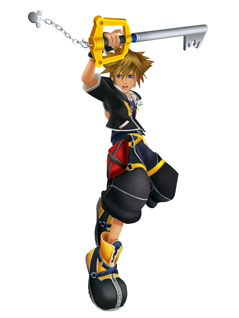 Sora Kingdom Hearts Square Enix 3rd Party Newcomer From The Kingdom Hearts Series Medium Light Class Kingdom Hearts Ii Kingdom Hearts Sora Kingdom Hearts