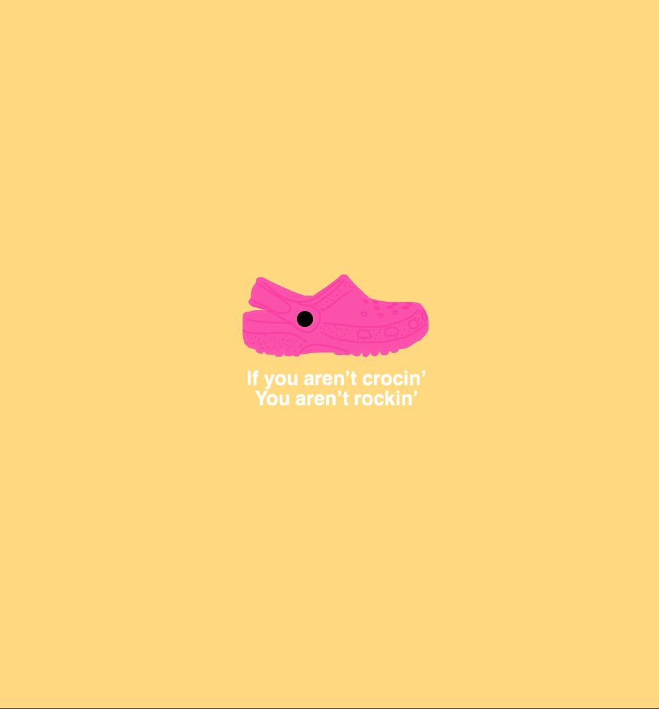 #crocs #shoes #aesthetic #funny #words #typography