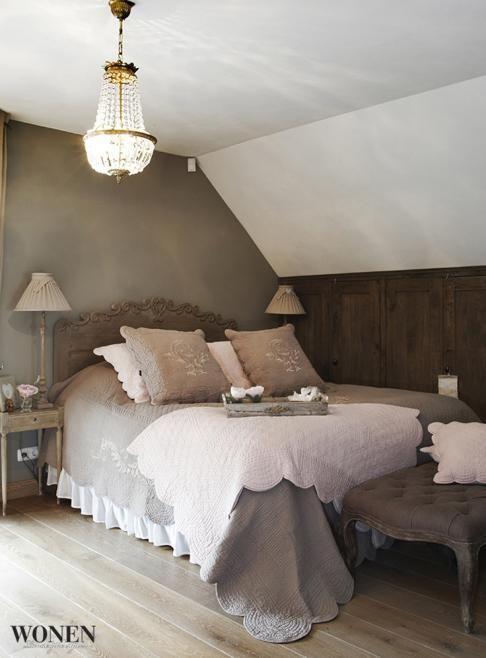 Stijlvol wonen uit wonen landelijke stijl het grootste for Inrichting slaapkamer landelijke stijl
