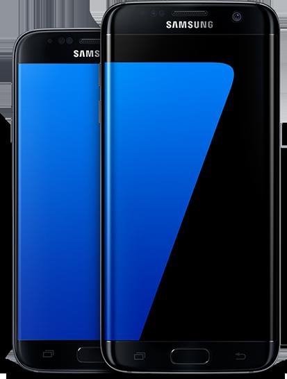 Samsung members app on the Galaxy S7 edge screen Samsung