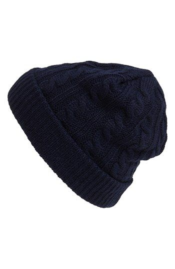 ee2920916fa24 Topman Cable Knit Beanie