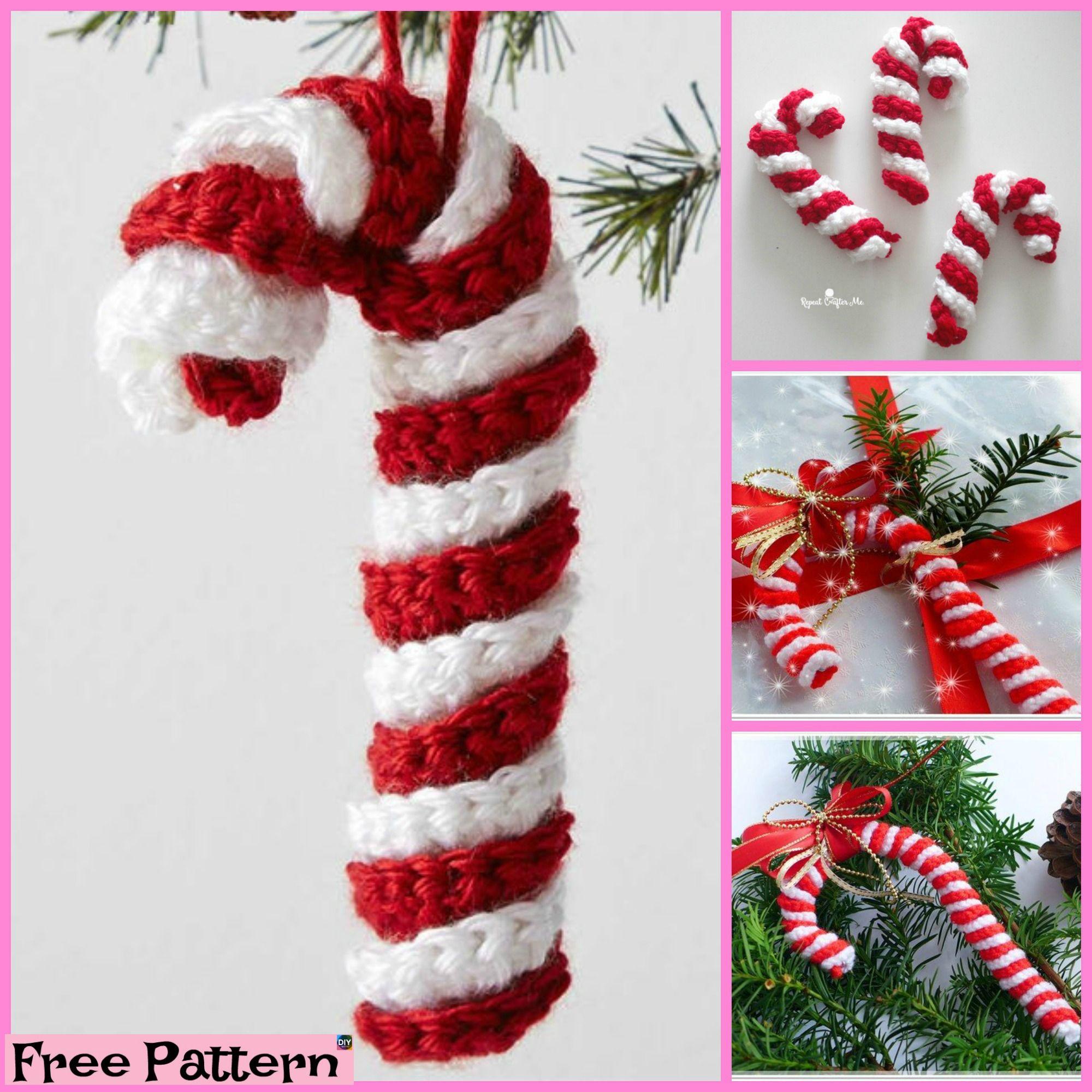 10 DIY Christmas Decorations   Tejidos crochet y 2 agujas ...