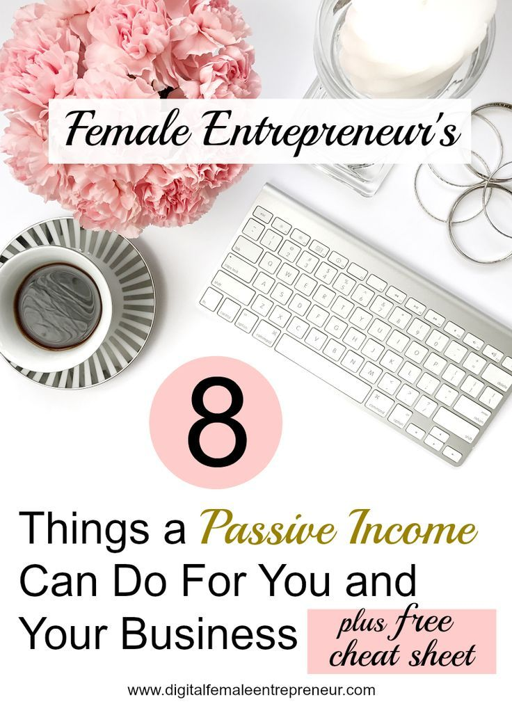Female Entrepreneurs Discover 8 Things a Passive Income Can Do For - business cash flow spreadsheet