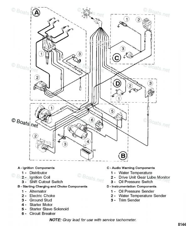 Mercruiser 140 Engine Wiring Diagram and Omc . Wiring