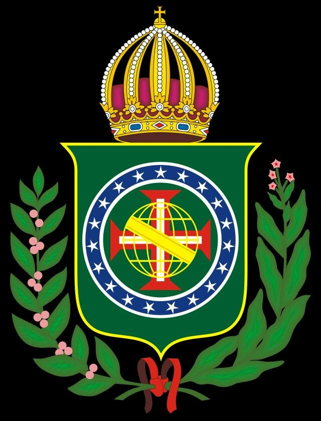 Coat Of Arms Of First Empire Of Brazil Jean Baptiste Debret