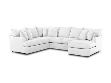 For Simple Elegance Findley Sectional And Other Living Room Sectionals At Furniture Solution In Bear De Delaware New Castle County
