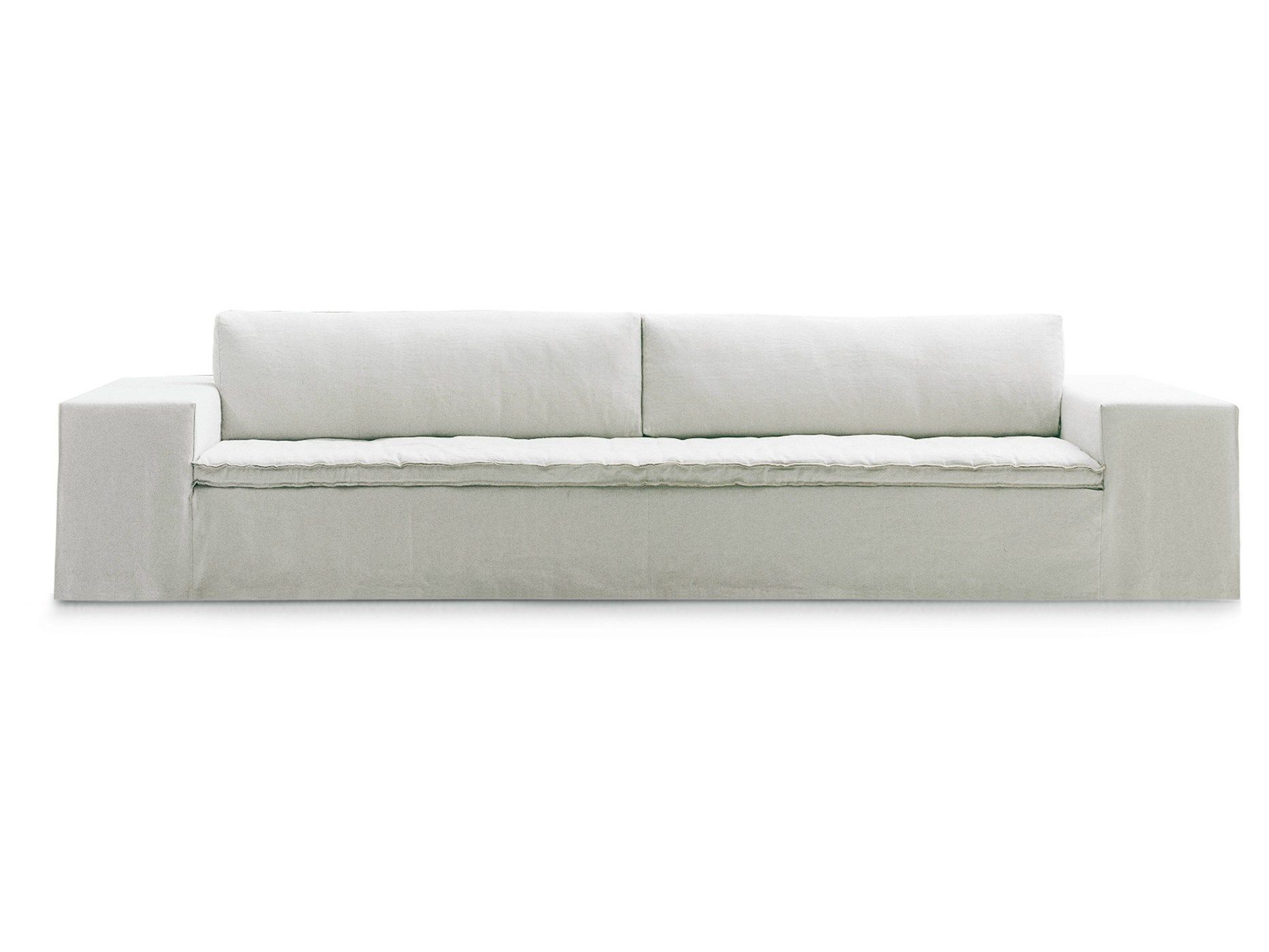 Fabric sofa with removable cover AIRPORT by Poliform design Paola