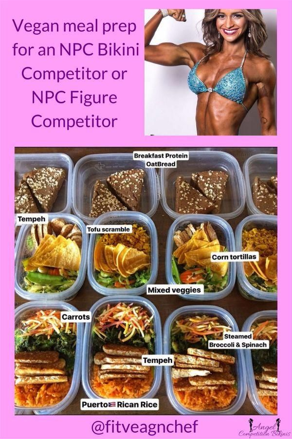 bodybuilding competition diet recipes
