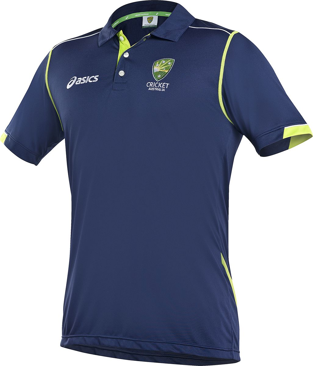 CA ASICS Travel Polo | Cricket Australia ASICS Training