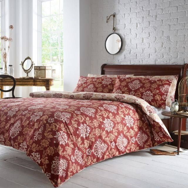 Terracotta Bedroom Designs: Suzannah Bedlinen #vantonahome #bedding #bedlinen #home