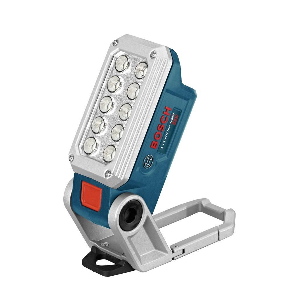 Bosch 12 Volt Lithium Ion Work Light With 10 Led Lights Products In 2019 Led Work Light Bosch Tools Led Lighting Home
