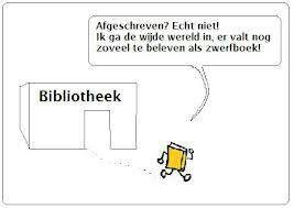 bookcrossing label afgeschreven (bieb) boek