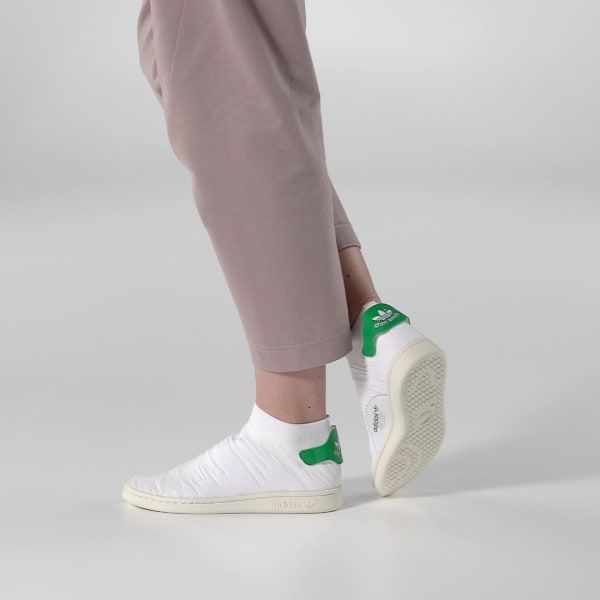 90c0562c0c9 adidas Stan Smith Shock Primeknit Schoenen - wit