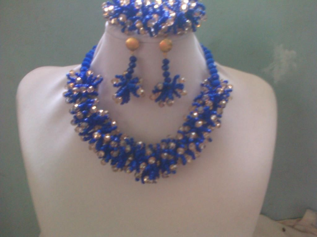 nigerian beads designs - Google Search | Nigerian beaded jewelry ...