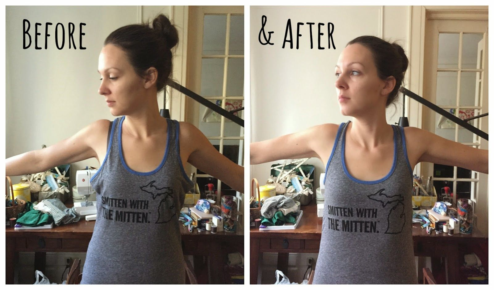Quick 'Fix' Friday: Tank Top Take-In