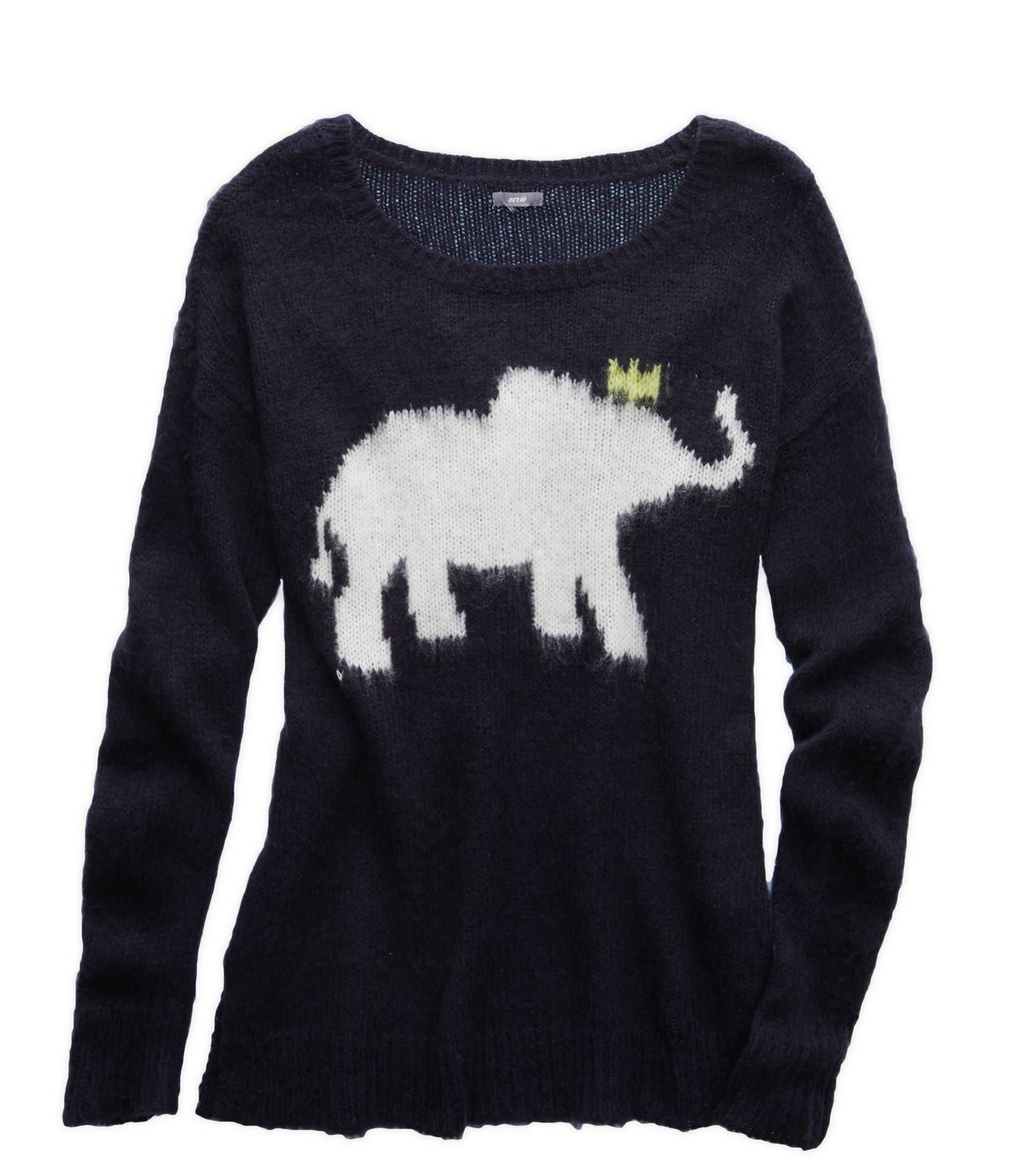 Royal Navy Aerie Graphic Sweater - Cute and cozy! #Aerie | Clothes ...