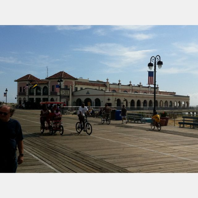 9th Street music pier. Ocean City, NJ