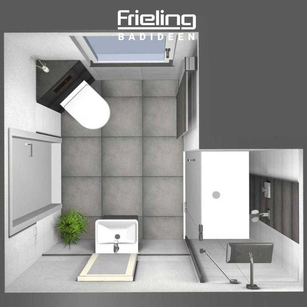 Das Kleine Gastebad 3d Planung Vogelperspektive Badezimmer Planen Bad Grundriss Badezimmer 4 Qm