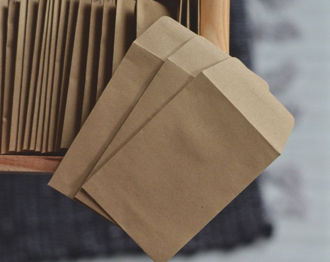 Seed Envelopes For Gardeners And Wedding Planners