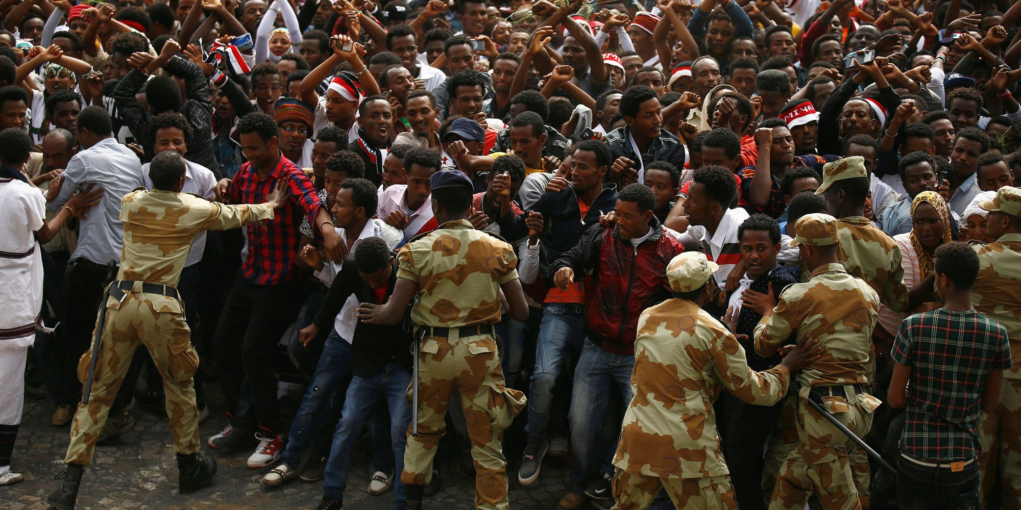 Dozens Killed In Ethiopia After Stampede At Protest