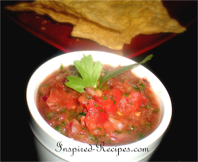 Inspired Recipes...: Fresh and Healthy Salsa Recipe