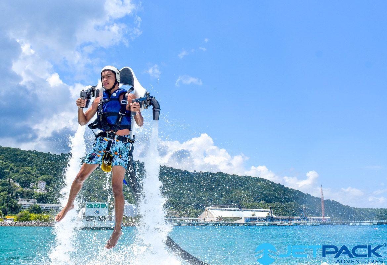 Water Sports Activities in Ocho Rios Jamaica Jetpack