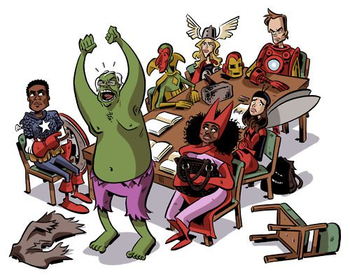 Avengers Community by Chris Schweizer