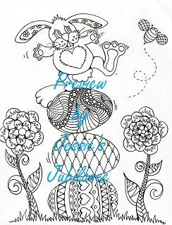 Easter Coloring Pages 4 Pack PDF Download Bunny Eggs Spring By JessiesJubilance On Etsy