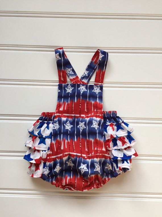 ef31bf8f3d82 4th of July Tie Dye Romper