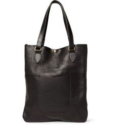 Hunter Leather Tote Bag