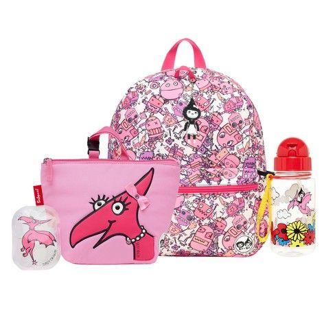 "Nella the Princess Knight 14/"" Royal Heart Kids/' Backpack Pink"