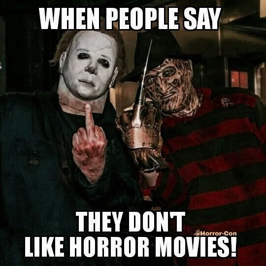 Right There Funny Horror Horror Movies Funny Horror Movies