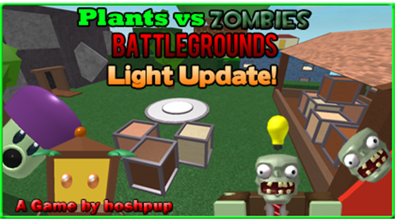 Plants Vs Zombies Battlegrounds A Free Game By Hoshpup Roblox