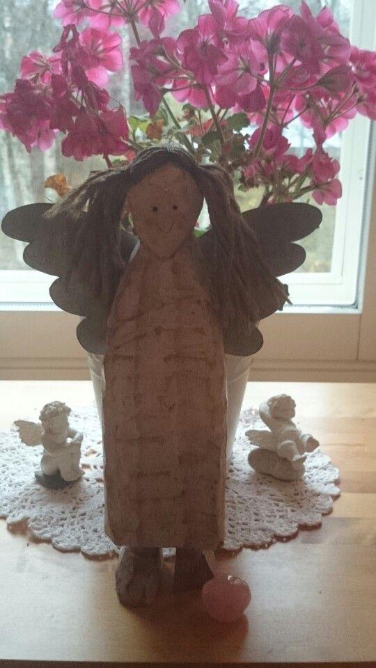Parveke enkelini muutti sisälle talvehtimaan