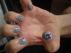 Pastel Drippy Leopard