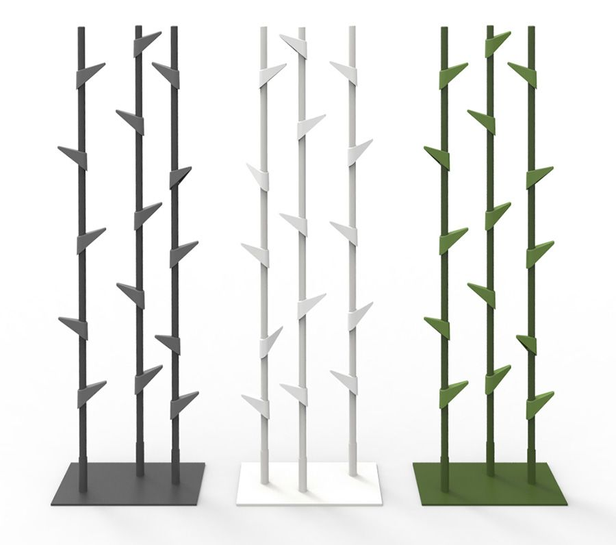 office coat tree. The Cascando Bamboo Coat Stand Is Available In Two Models - Either A Alone Version Or As Group Of Three. Office Tree