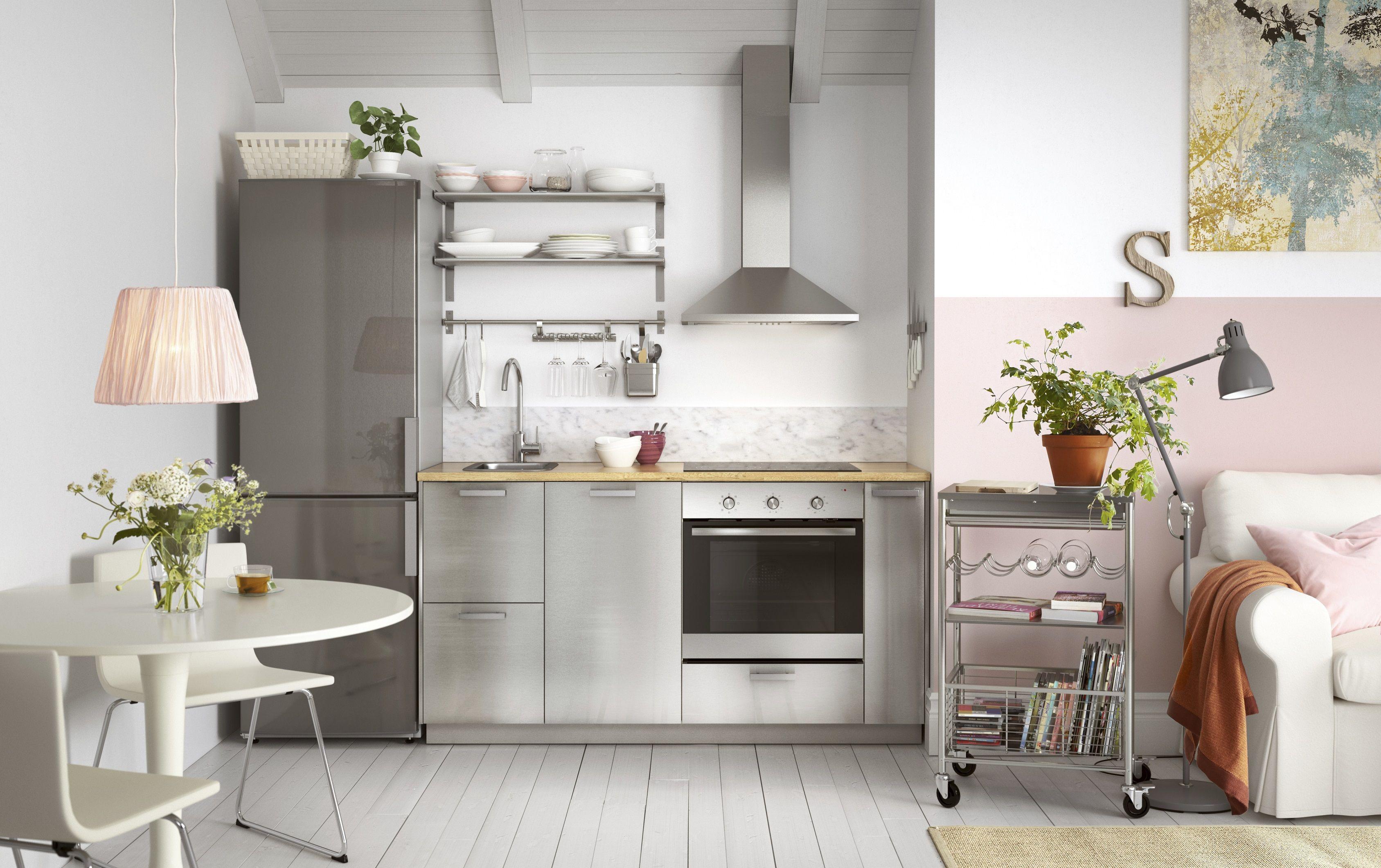 Rvs Keuken Ikea : Metod keuken ikea ikeanl rvs roze keukensysteem keukens
