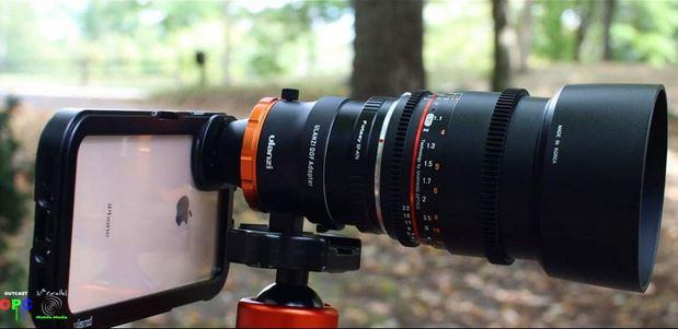 Ulanzi Dof Adapter Attach Sony Lenses To Iphone Sony Lenses Dslr Lenses Iphone