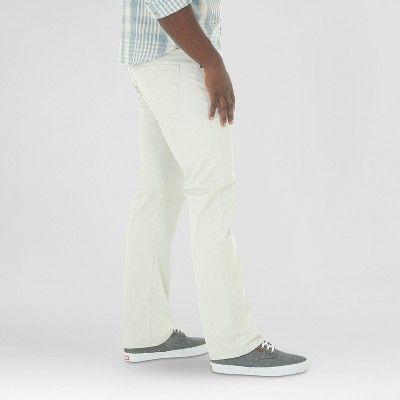 aaa96d68 Wrangler Red Men's Vintage Straight Stretch Twill Pants -Light Gray 32X30,  Light Gray