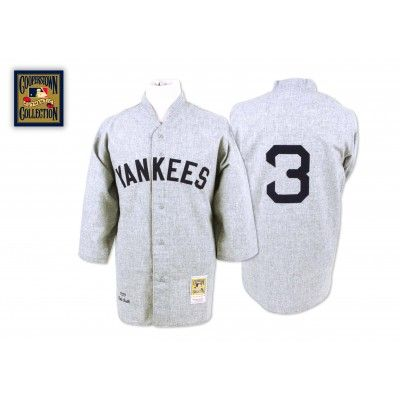 99caa82a New York Yankees 1929 Road Jersey - Babe Ruth - Mitchell & Ness ...