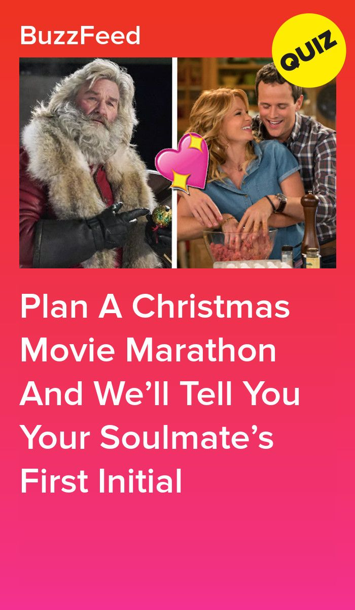 Plan A Christmas Movie Marathon And We'll Tell You Your