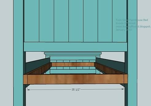 Best Farmhouse Bed Twin Size Diy Bed Woodworking Desk Plans Bed Plans 400 x 300