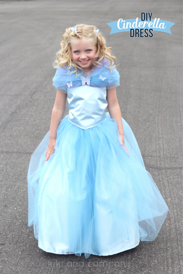 DIY Cinderella Ball Gown Dress Tutorial at kiki and company. | Kid ...