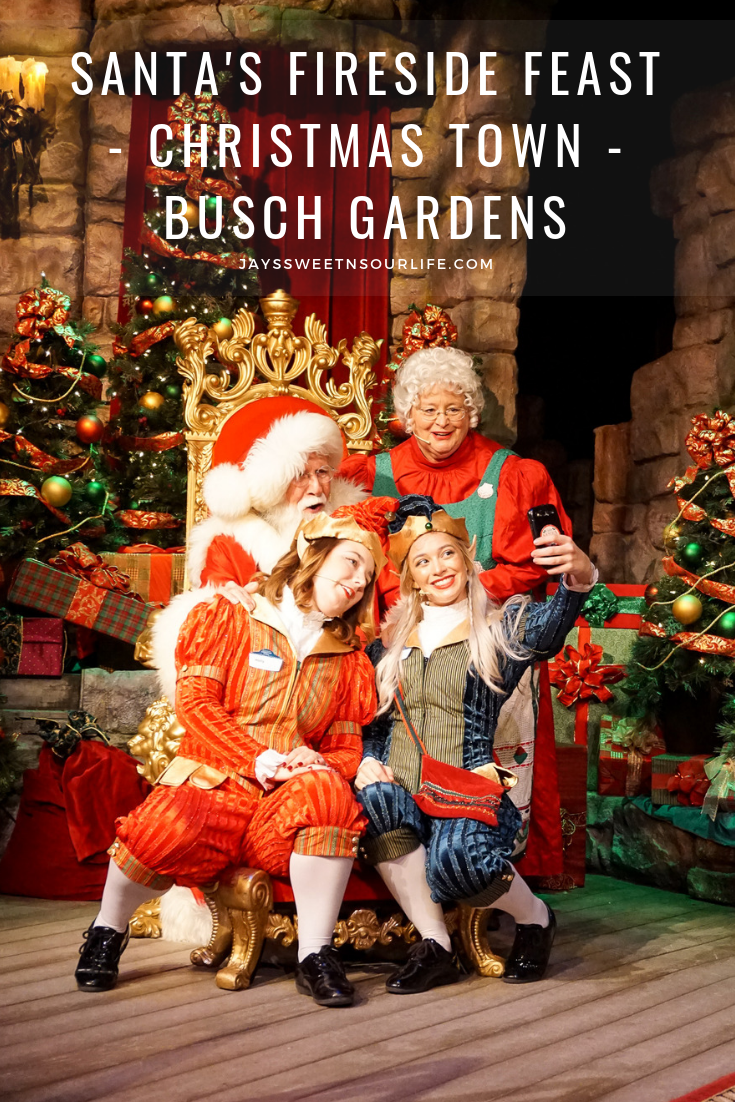 Gather Around As Santa Recounts A Classic Christmas Story While Elves Prepare A Scrumptious All You C Busch Gardens Christmas Town Busch Gardens Christmas Town