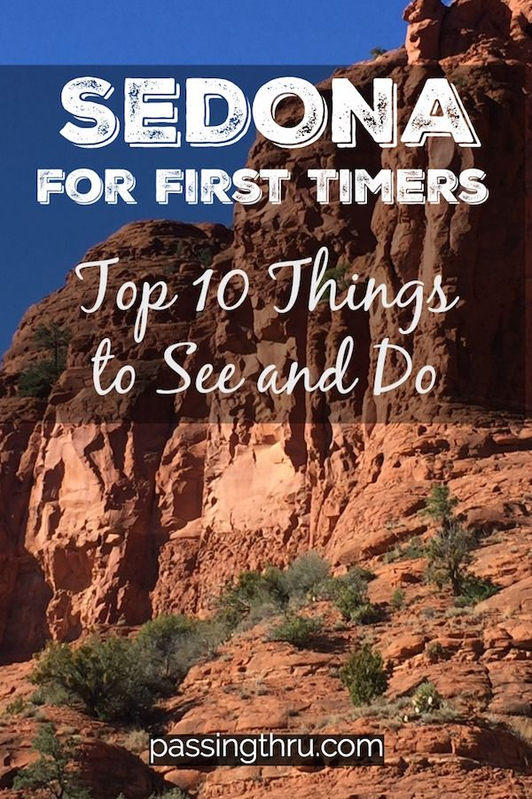 Unique Things To Do In Sedona Arizona: A First Tim